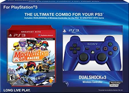 ModNation Racers with DualShock 3 Bundle (Blue)