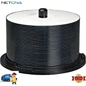 TuffCoat CD-R Recordable CDs With WaterShield Spindle Pack Of 50 And Free 6 Feet Netcna HDMI Cable - By NETCNA