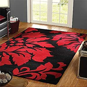 wool rugs floral modern 3d cheap affordable bedroom and lounge rug