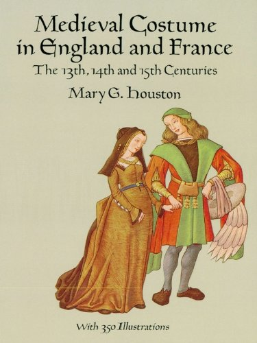 Medieval Costume In England And France: The 13Th, 14Th And 15Th Centuries (Dover Fashion And Costumes) front-930570