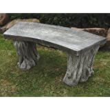 Large Garden Benches - Woodlands Design Stone Bench
