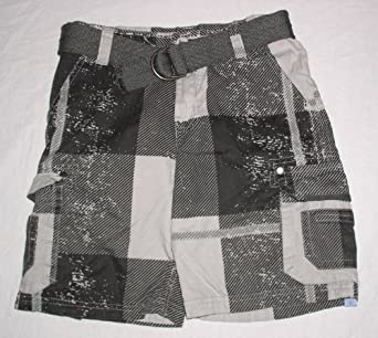Uproar Patterned Cargo Shorts (8 Husky)