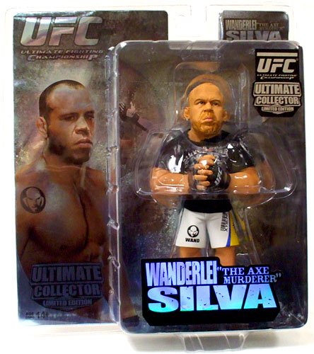 Round 5 UFC Ultimate Collector Series 3 LIMITED EDITION Action Figure Wanderlei The Axe Murderer Silva
