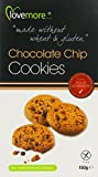 Lovemore Free From Chocolate Chip Cookies 150 g (Pack of 6)