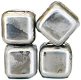 SPARQ Home Stainless Steel Whiskey Cubes, Set of 4