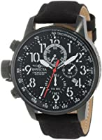 "Invicta Men's 1517 I ""Force"" Collection Stainless Steel and Cloth Strap Watch by Invicta"