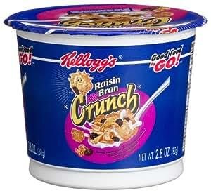 Amazon.com: Raisin Bran Crunch Cereal to GO!, 2.8-Ounce
