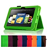 Fintie (Green) Slim Fit Leather Case Cover Auto Sleep/Wake for Kindle Fire HD 8.9