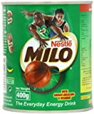 Nestle Milo Energy Cocoa Powder Drink 400 g (Pack of 4)