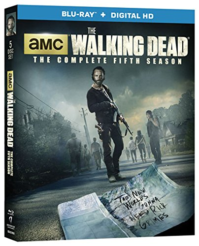 Blu-ray : The Walking Dead: The Complete Fifth Season (Boxed Set, Ultraviolet Digital Copy, 5 Disc)