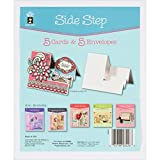 Hot Off The Press Die, Cut Cards with Envelopes, Side Step, 5-Pack