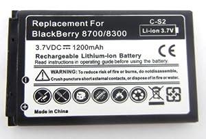 Battery For BLACKBERRY CS2 CS-2 BATTERY FOR CURVE 3G 9300 9330