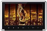 Yunshangauto CPRM対応 HDMI対応 10.1インチ ポータブル dvd プレーヤー 車載 ヘッドレスト リージョンフリー USB/SD/FM/IRトランスミッター リモコン付け