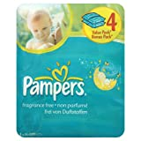 Pampers Baby Fresh Unscented Baby Wipes - 4 x 72 Wipes (288 Wipes)by Pampers