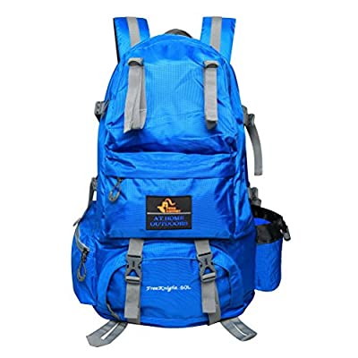 PioneerHiker 50L Lightweight Water-resistant Large Hiking Backpack Daypack for Outdoor Hiking Camping Travel Climbing Mounteerning