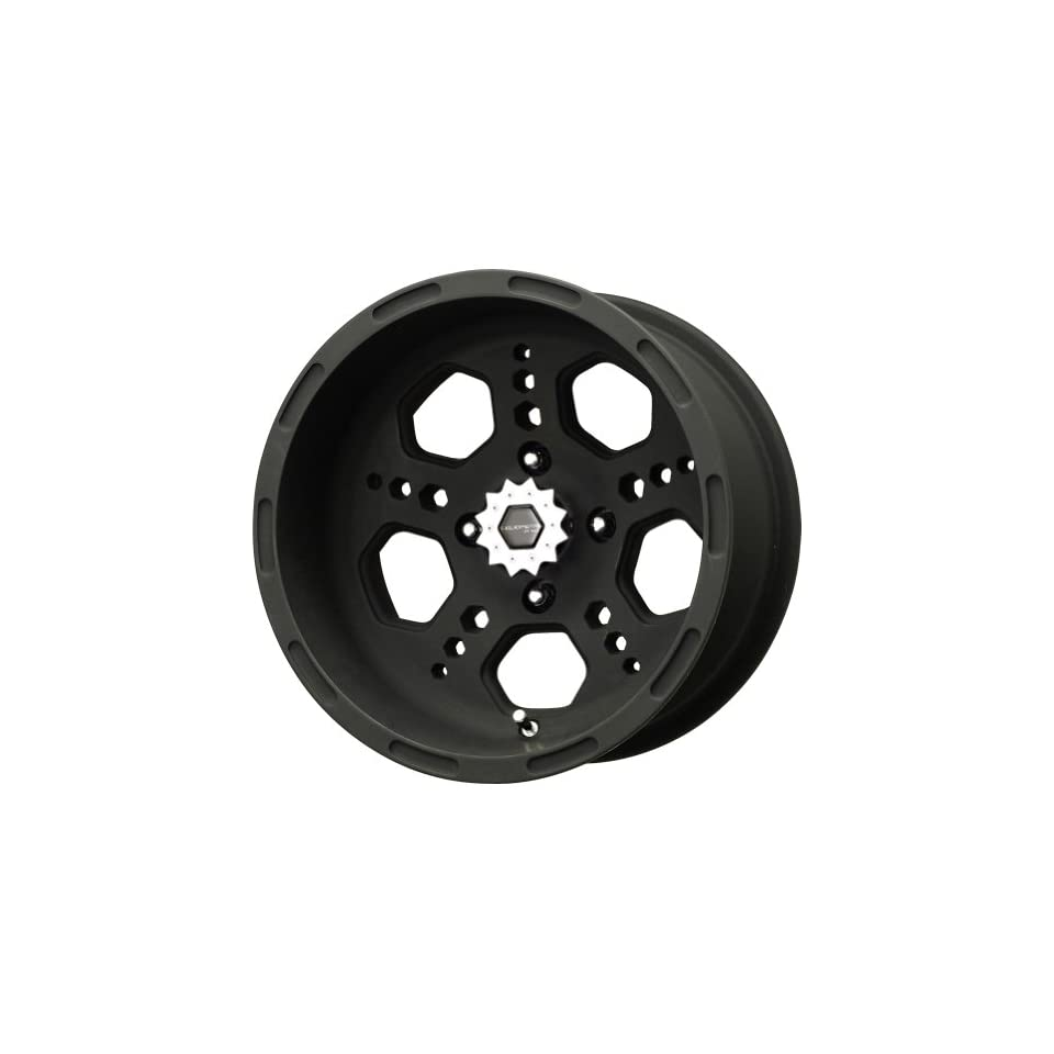 Liquid Metal Gatlin Series Matte Black Wheel (14x7/4x110mm)