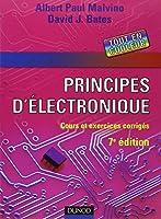 Principes d'électronique : Cours et exercices corrigés