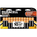 Duracell Coppertop AA Batteries, 80-Count