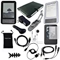 "TsirTech 14-Item Accessory Bundle for Amazon Kindle 3 3rd Gen Wireless Reading Device (6"" Display, 3G Global Wireless, Latest Generation)"