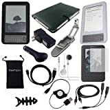 TsirTech 14-Item Accessory Bundle for Amazon Kindle 3 3rd Gen Wireless Reading Device (6