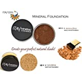 ITAY-Create your Perfect Shade: Mineral Loose Foundation MF8-Marrocchino 9gr+Travel Size MF9-Taramisu 2.5gr