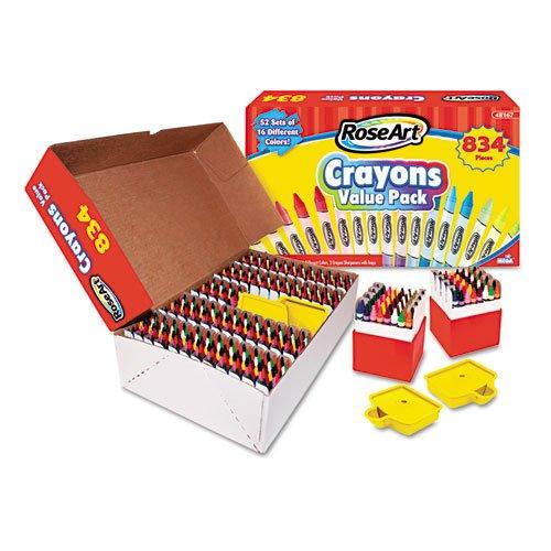 Crayons Classic Colors Multipack 16 Colors/52 Sets 832/Pk