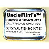 Uncle Flints Survival Fishing Kit