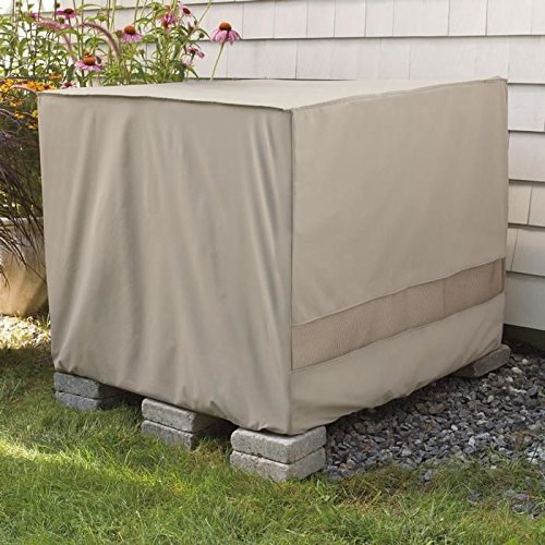 Weather Wrap Square Central Air Conditioner Cover (Air Conditioner Cover Outside compare prices)