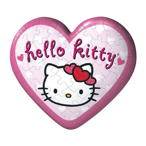 Cheap Ravensburger Hello Kitty 3d Heart Puzzle Ball – Holding Heart (B003F11CQ2)