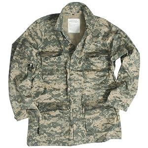 US Military Patrol Bdu Shirt Mens Jacket Combat Uniform Airsoft ACU Digital Camo by Mil-Tec