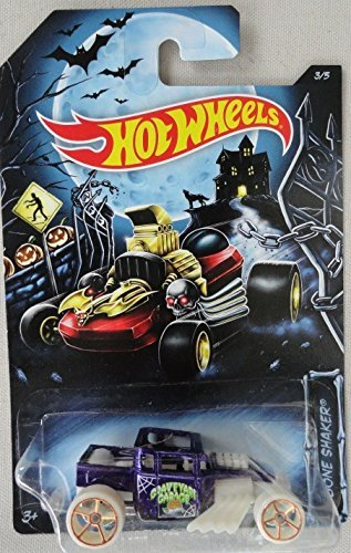 2014 Hot Wheels Halloween Exclusive 3/5 - Bone Shaker - 1