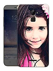 """Cute Pretty Girl Printed Designer Mobile Back Cover For """"Coolpad Note 3 Lite"""" By Humor Gang (3D, Matte Finish, Premium Quality, Protective Snap On Slim Hard Phone Case, Multi Color)"""