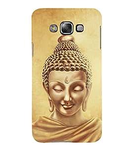 Lord Buddha Design 3D Hard Polycarbonate Designer Back Case Cover for Samsung Galaxy E7 :: Samsung Galaxy E7 E700F (2015)