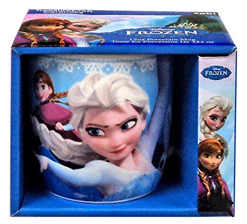 Zak Designs Disney'S Frozen Elsa, Anna, Olaf, Porcelain Mug, 12-Ounce, Multicolor