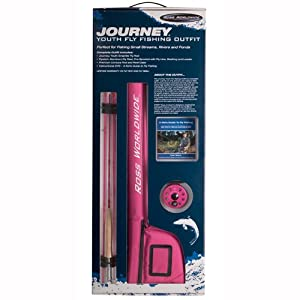 Ross Worldwide Journey Youth Fly Fishing Outfit (4 wt.) by 3M