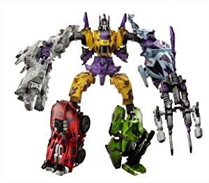 Transformers Generation 2 Decepticon Bruticus Combiner Set