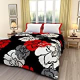 Monil Floral Print Reversible Poly Cotton Single Bed AC Blanket / Dohar