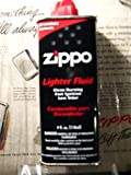 Single Can, Zippo Fluid, 4 oz can