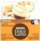Nescafe Dolce Gusto for Nescafe Dolce Gusto Brewers, Caramel Latte Macchiato, 16 Count (Pack of 3)