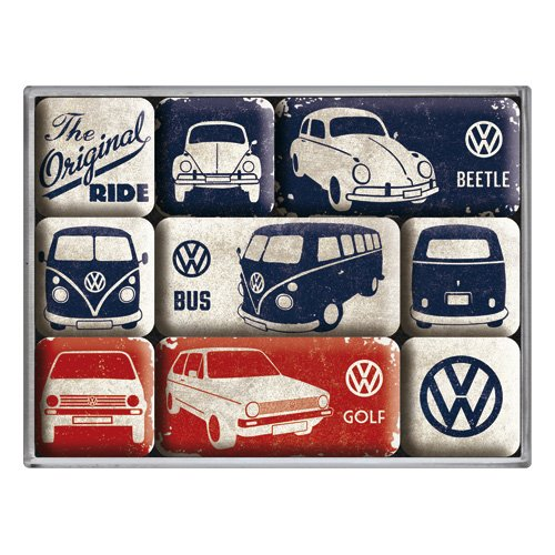 nostalgic-art-83075-volkswagen-vw-the-original-ride-magnet-set-9-teilig