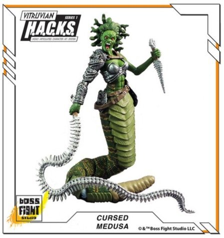 BFS 3.75 inch Medusa Boss Fight Studio [parallel import goods] (Medusa Action Figure compare prices)