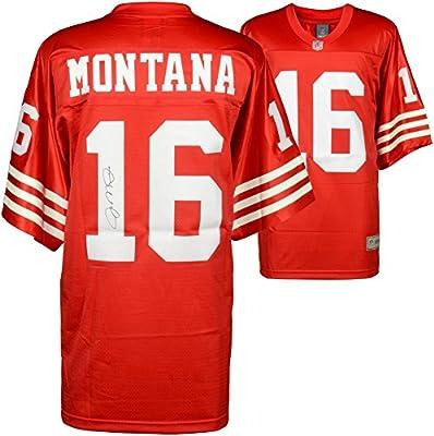 Joe Montana San Francisco 49ers Autographed Red Pro-Line Jersey - Fanatics Authentic Certified - Autographed NFL Jerseys