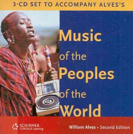 Audio 3-CD Set for Alves' Music of the Peoples of the...