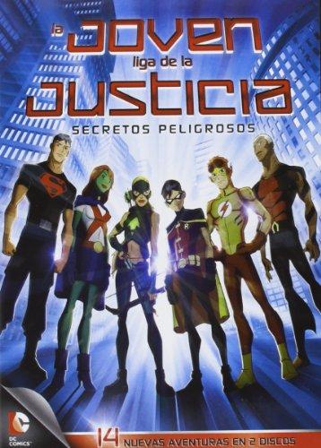 La Joven Liga De La Justicia: Secretos Peligrosos - 1ª Temporada (Parte 2) [DVD]
