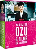 echange, troc Yasujirô Ozu : 5 films en couleurs - coffret 6 DVD