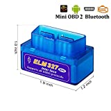 DOSNTO Bluetooth OBD2, OBDII Car Diagnostic Scanner, Car Diagnostic Check Engine Light Scan Tool Code Reader.