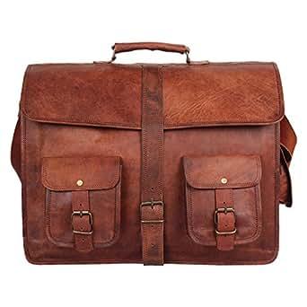 Luxury Brown Leather Shoulder Bag Leather Messenger Bag Women Tote