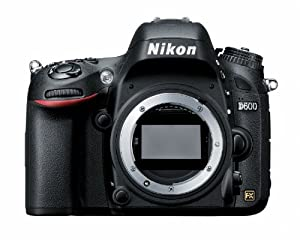 Nikon D600 24.3 MP CMOS FX-Format Digital SLR Camera (Body Only) (OLD MODEL)