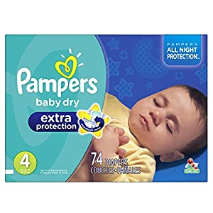 Amazon Com Pampers Baby Dry Extra Protection Diapers Size