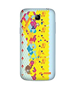 Stripes And Elephant Print-60 Samsung Galaxy S4 Mini Case